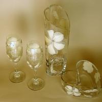 Komplet Ślubny - Srebrny Kwiat