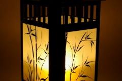 """Lampion (świecznik) \""""Bambusy\"""""""