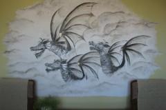 Smoki na ścianie