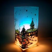 Świąteczna lampka