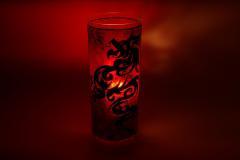 """Świecznik """"Red Dragon"""""""