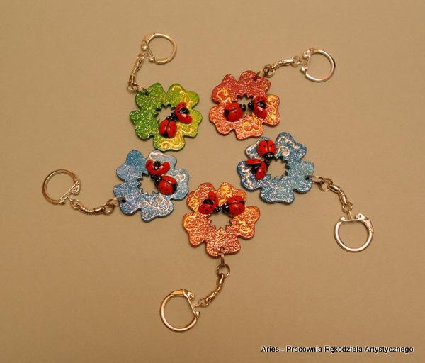 Breloczki Kwiatuszki